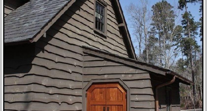 Faux Log Siding Home Design Ideas