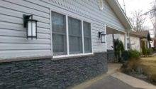 Faux Stone Siding Traditional Exterior Providence