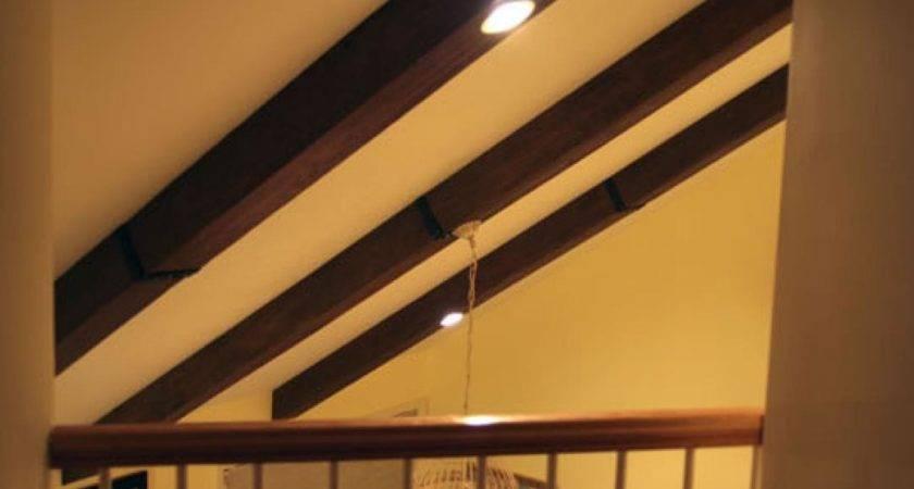 Faux Wood Beams Ceiling Ideas Dye