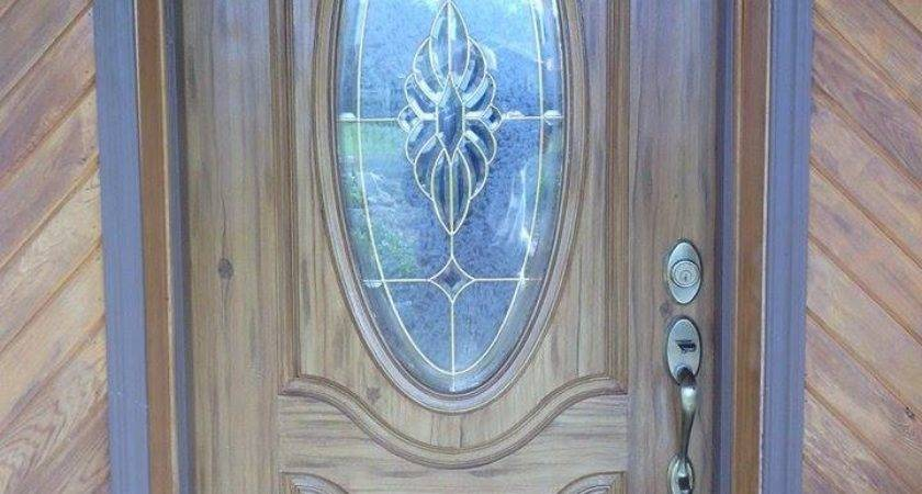 Faux Wood Doors Ocala Finish