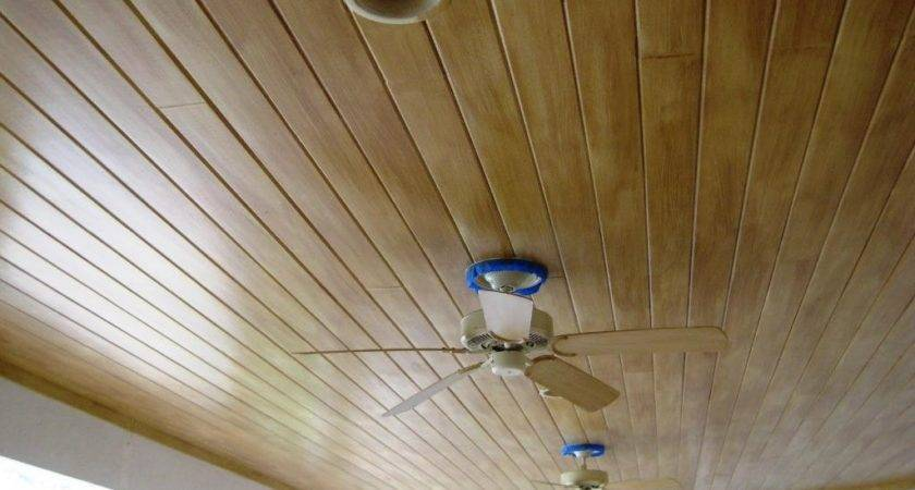 Faux Wood Paneling Wall Ceiling Best House Design