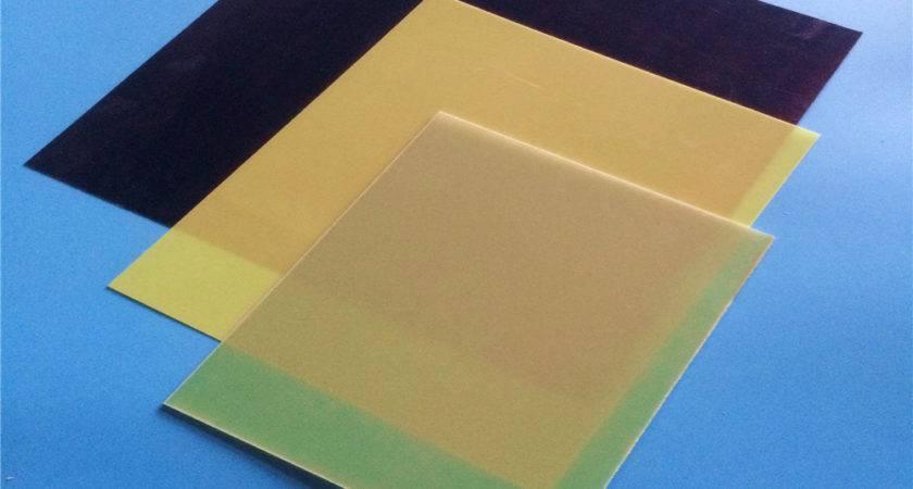 Fiberglass Sheets Yellow Epoxy Resin Glassfiber