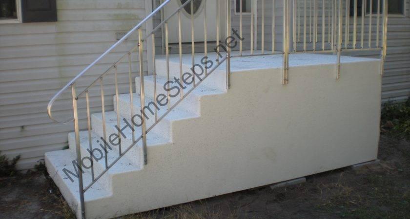 Fiberglass Steps Mobile Home Manufacturing