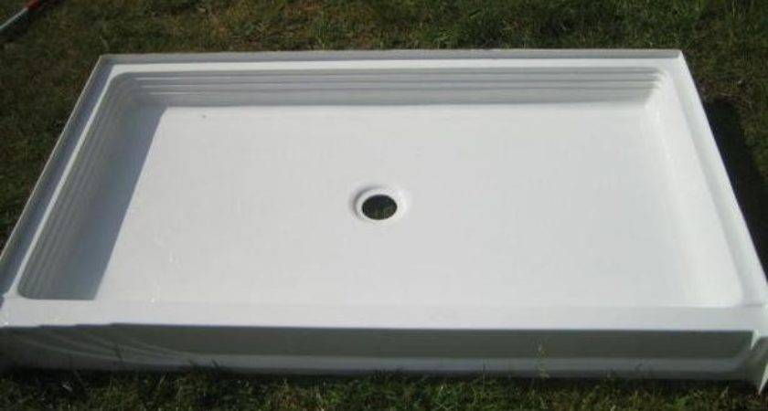 Fibreglass Shower Pan New Campbell River