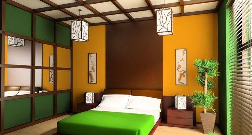 Finest Design Modern Green Bedroom Interior