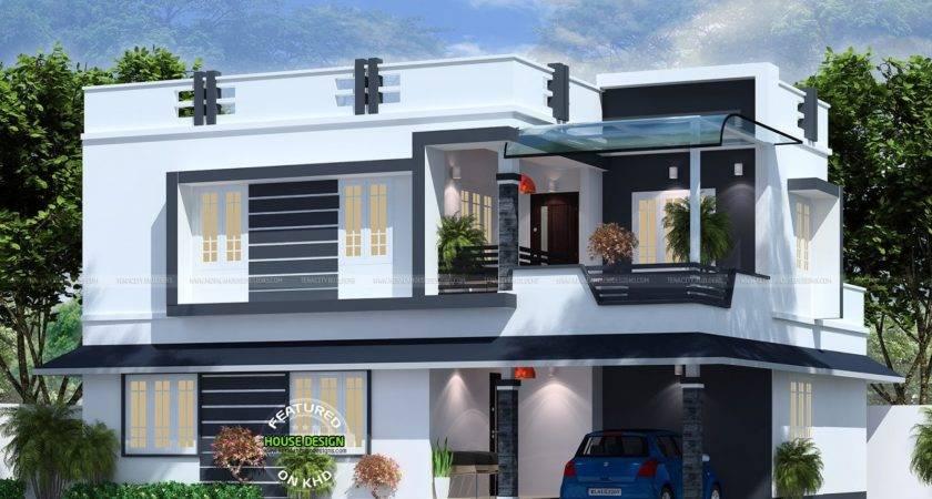 Flat Roof House Plan Kerala Home Design