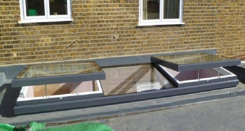 Flat Roof Skylights Home Design Ideas