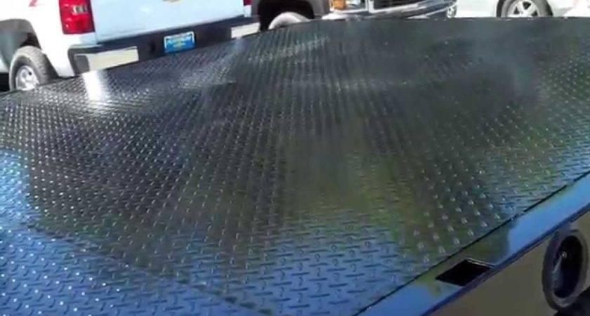 Flatbed Diamond Plate Steel Floor Overlay
