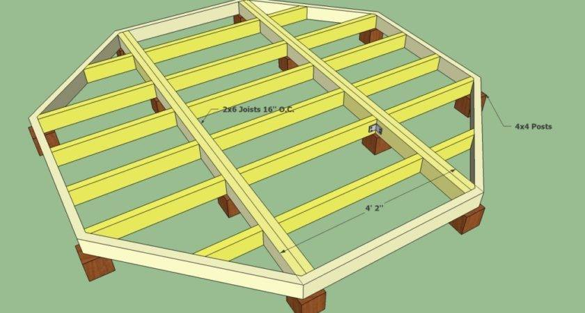 Floating Deck Plans Howtospecialist Build