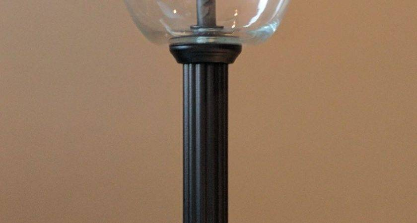 Floor Lamp Table Top Glass Globes
