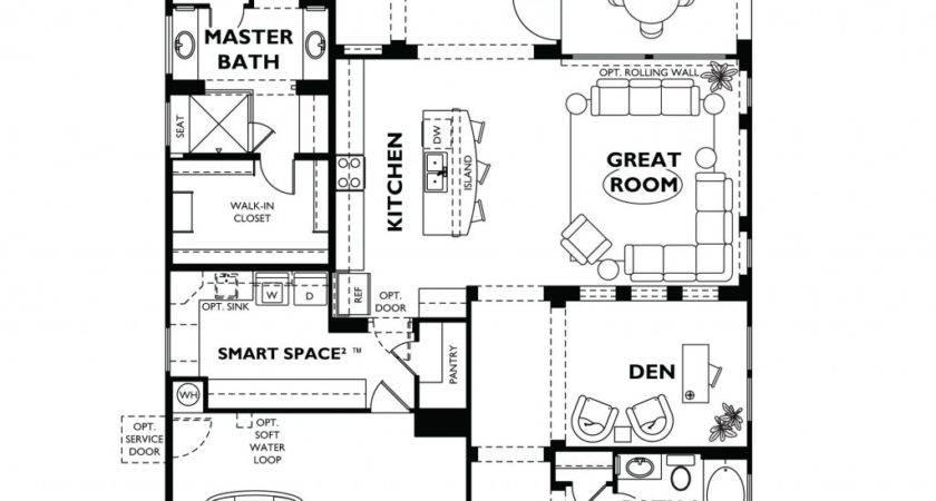 Floor Plan Homes Modern Vistancia Nice