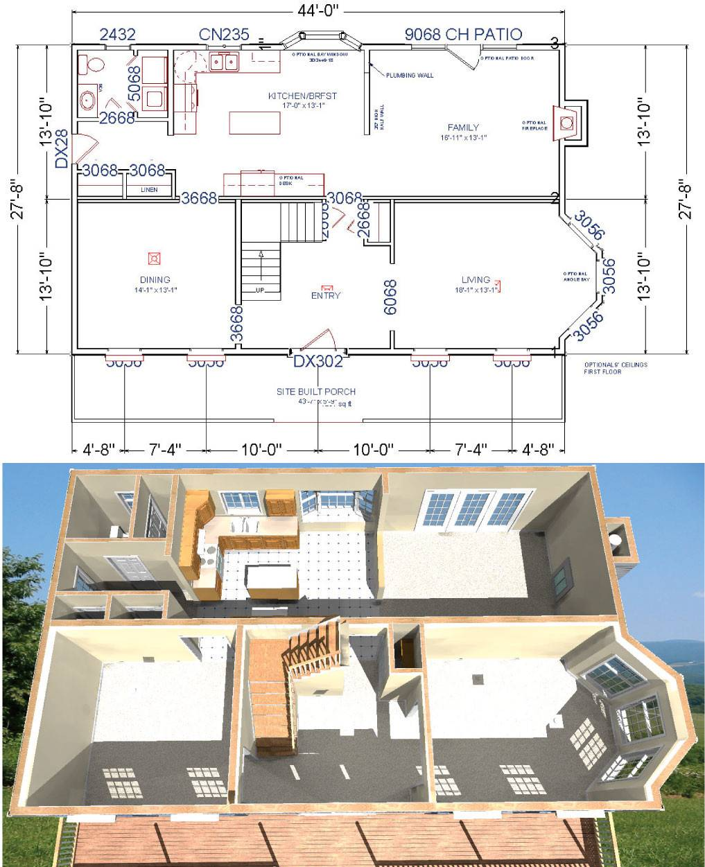 Home Additions Plan Drawings: Floor Plans Additions Modular Home