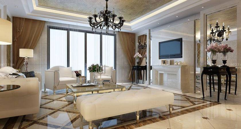 Floor Tiles Design Small Living Room Modern House