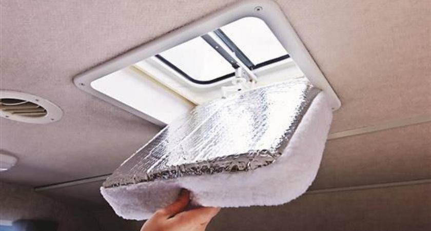 Foam Foil Roof Vent Insulation Camper Travel