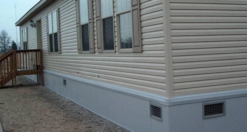 Foam Skirting Mobile Homes Ideas