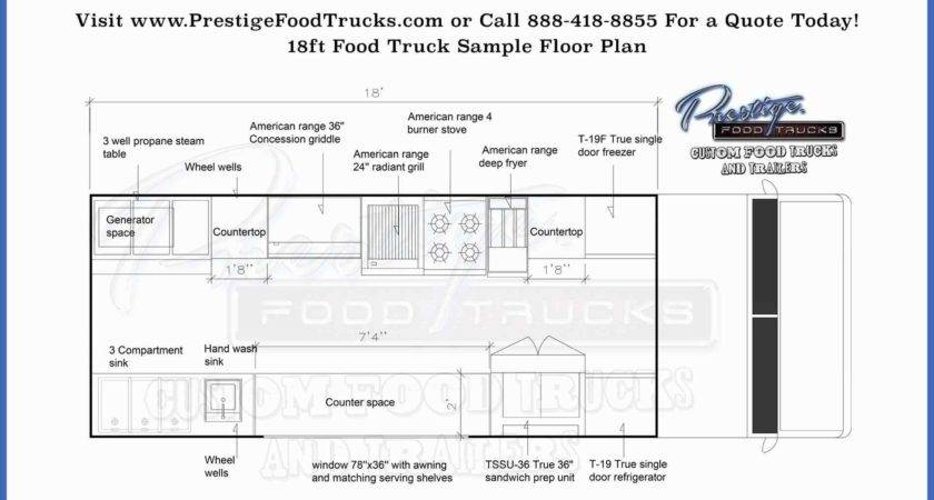 Food Trailer Layout Arch Dsgn