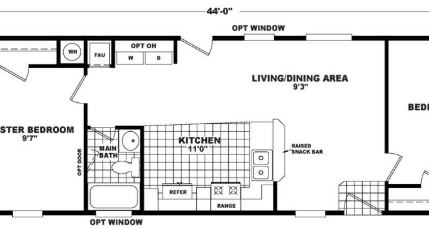 Foot Wide Mobile Home Floor Plans