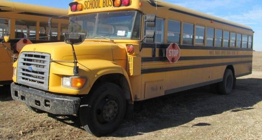 Ford Blue Bird School Bus Item Sold