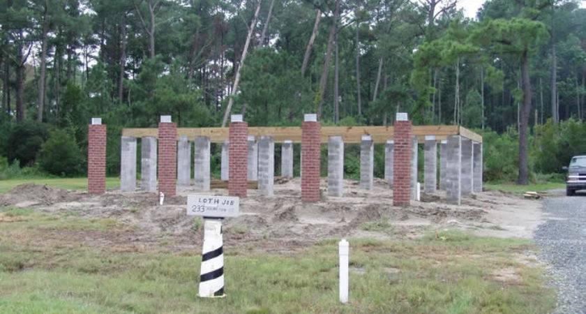 Foundations Foundation Block Pier