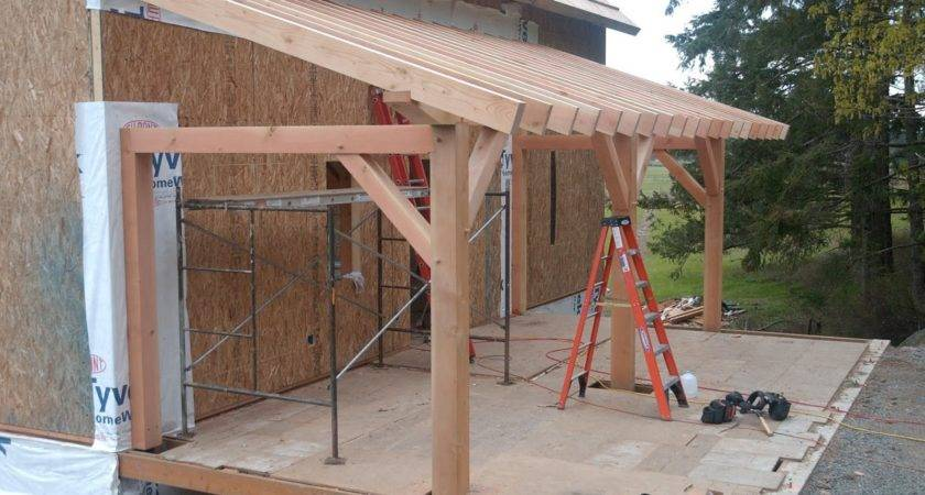 Frame Front Porches Roofs Decoto