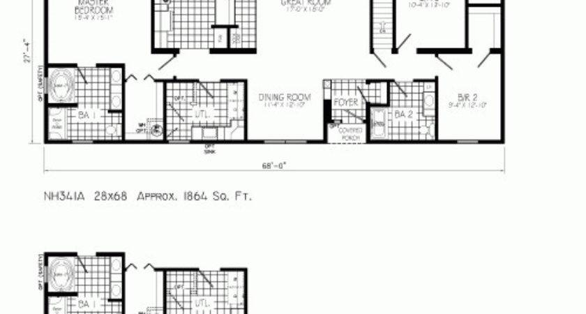 Freehaven Mannorwood Homes Ranch Floorplan