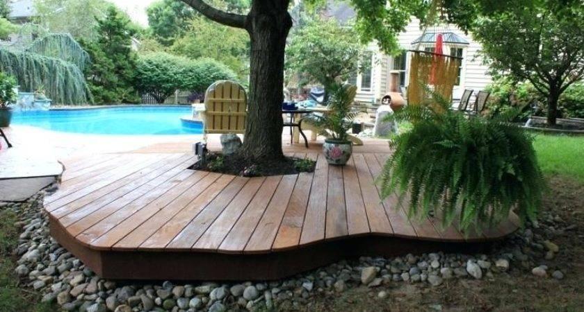 Freestanding Deck Plans Salmaun