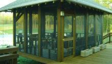 Freestanding Screened Porch Greensboro