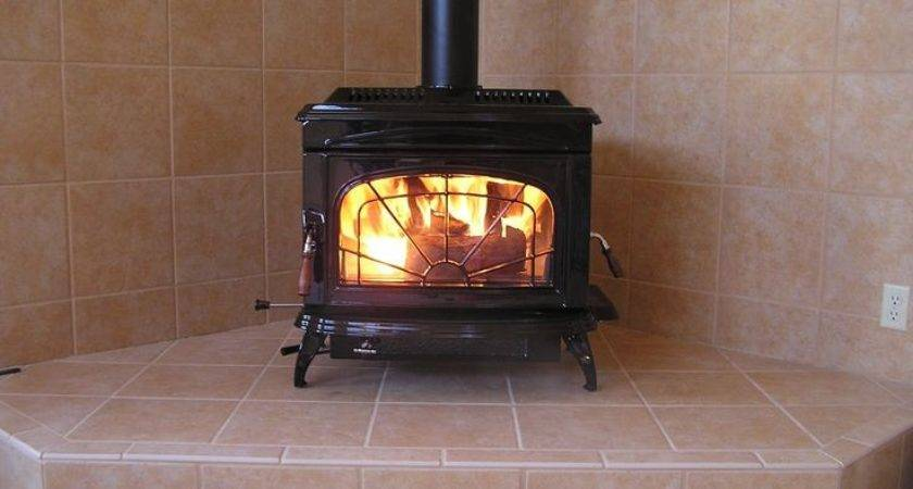 Freestanding Wood Burning Stove Wall Protection