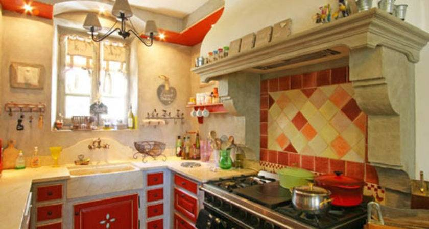 French Country Kitchen Design Dining Room Decor