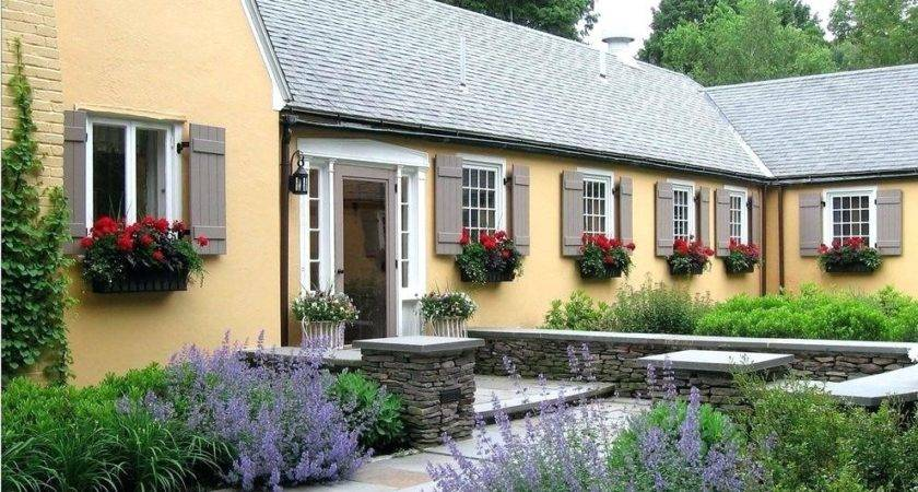French Country Landscape Ideas