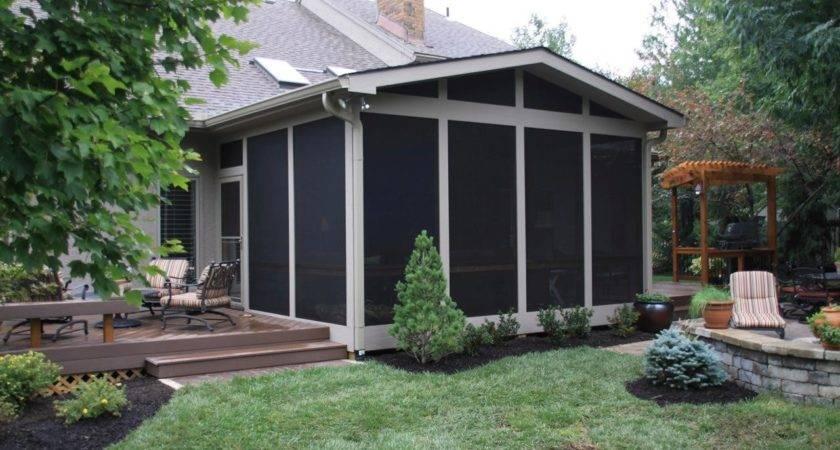 Fresh Elegant Enclosed Porch Ideas Old Farmho