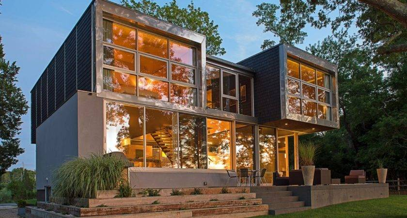 Fresh Pond North Haven Hamptons Modern Green Home