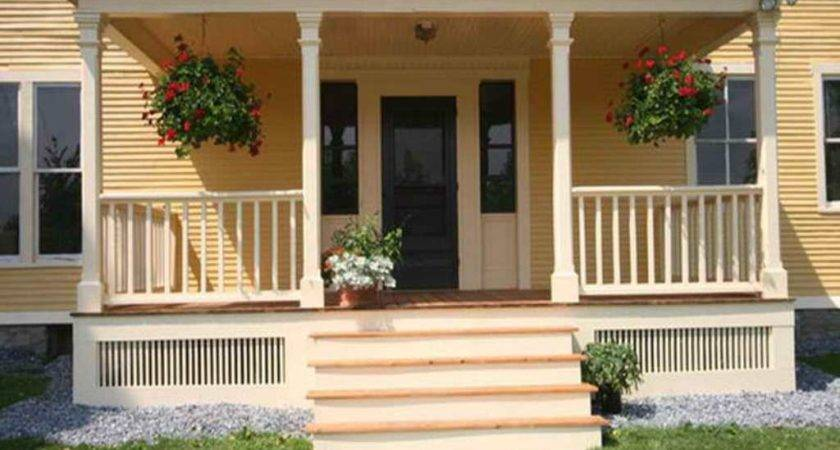 Front House Porches Designs Architectural
