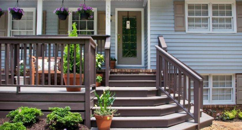 Front Porch Dazzling Decorating Ideas