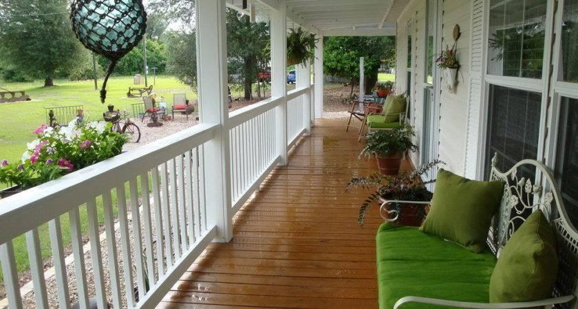 Front Porch Design Ideas Mobile Homes Home