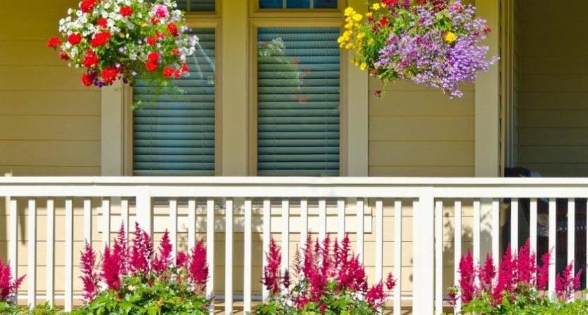 Front Porch Garden Ideas Photos