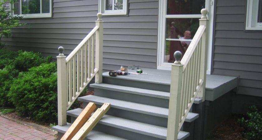 Front Porch Handrail Ideas