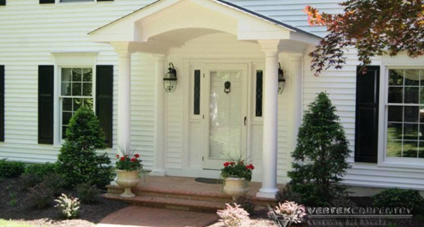 Front Porch Overhang Designs Joy Studio Design