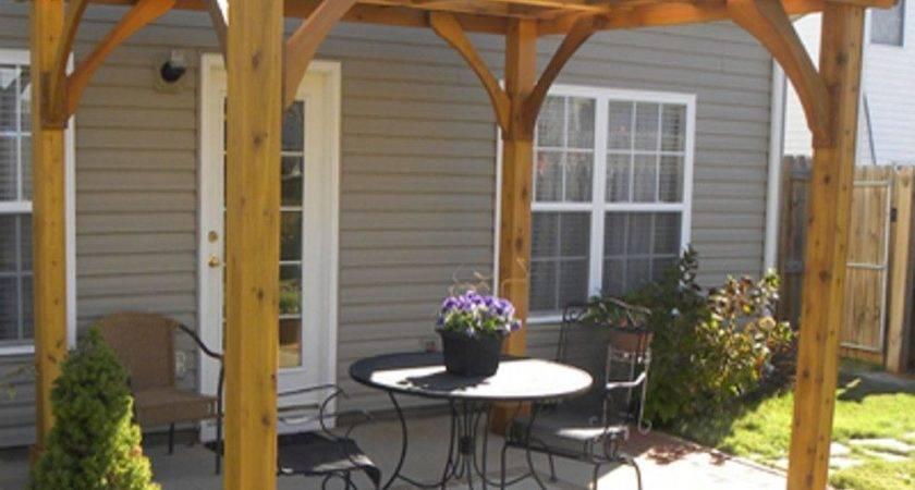Front Porch Pergola Decor Bistrodre