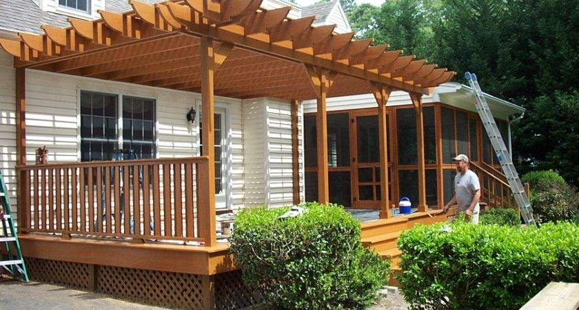 Front Porch Pergola Outdoor Goods