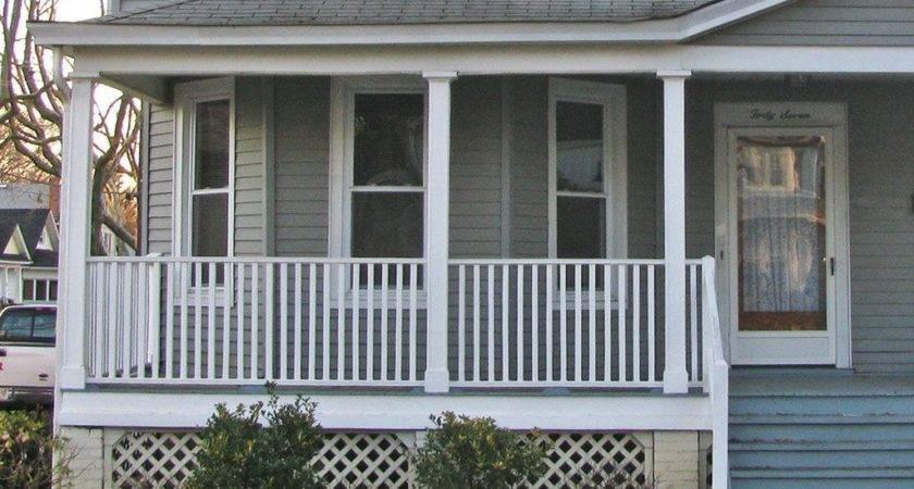 Front Porch Railing Idea Cheap Joy Studio Design