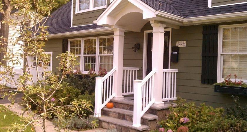 Front Porch Railing Posts