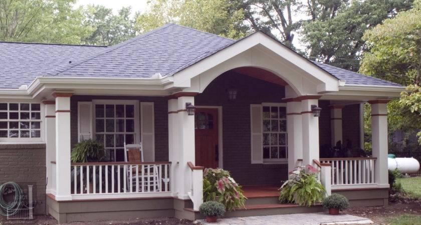 Front Porch Roof Modern Karenefoley Chimney Ever
