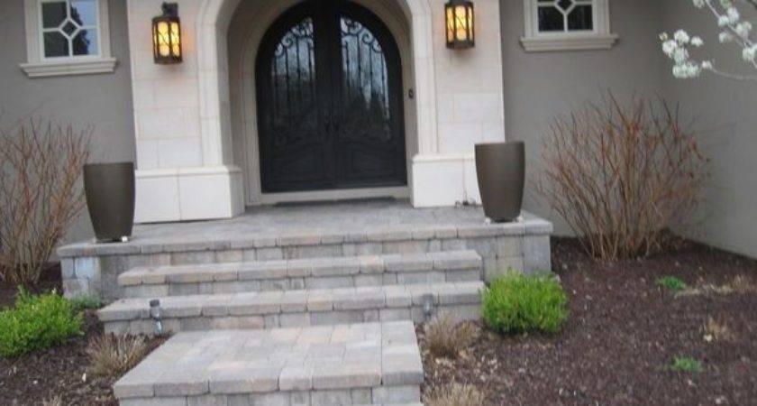 Front Porch Walkways Steps Cherry Hills