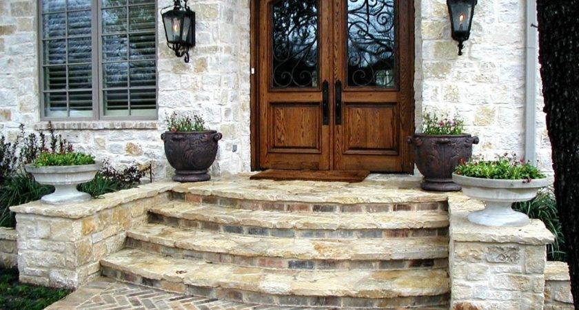 Front Steps Outdoors Pinterest