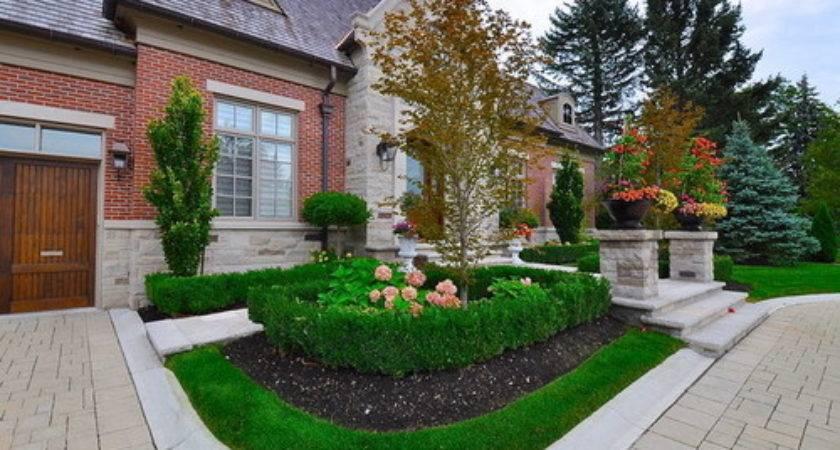 Front Yard Landscaping Ideas Convert Bland Garden Into