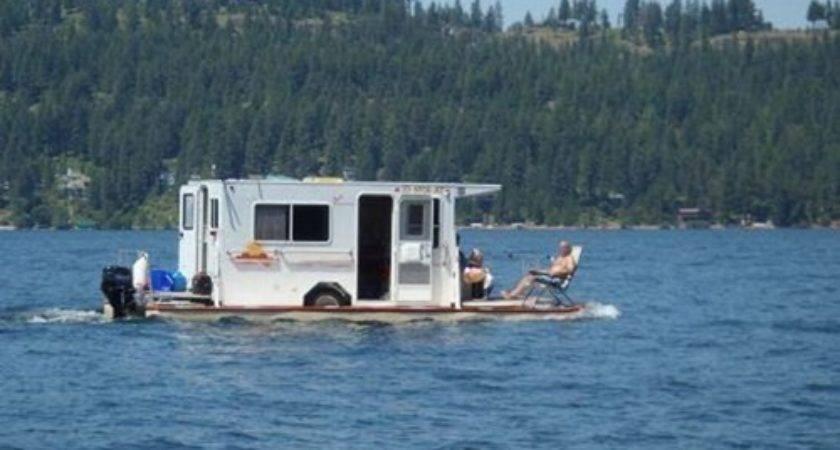 Funny Houseboat Both