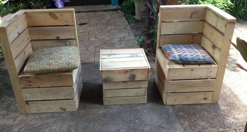 Furniture Recycled Pallet Wood Ebay Patio