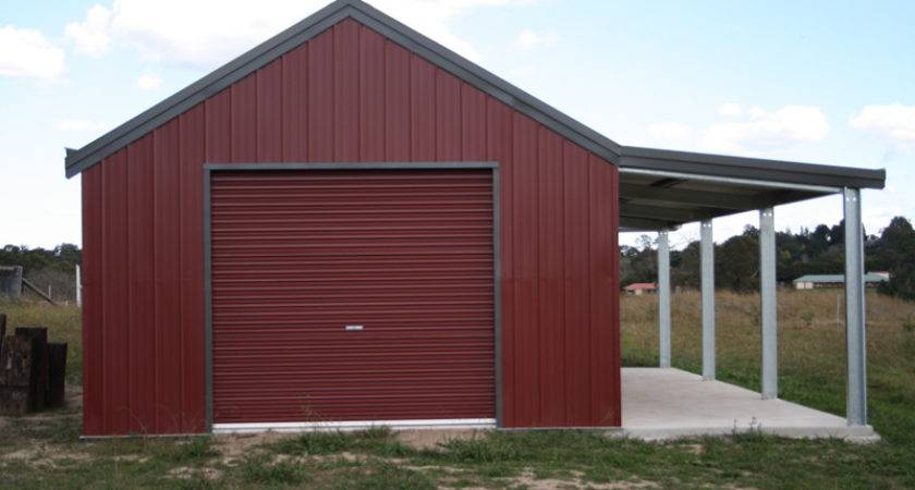 Garage Garaport Lean Fair Dinkum Sheds