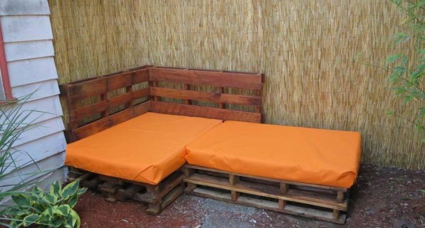 Garden Furniture Made Out Pallets Interior Design
